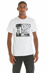 OBEY - Block Party Premium Men's Shirt, White - The Giant Peach
