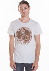 OBEY - Stargazer Men's Tee, Heather Stone - The Giant Peach