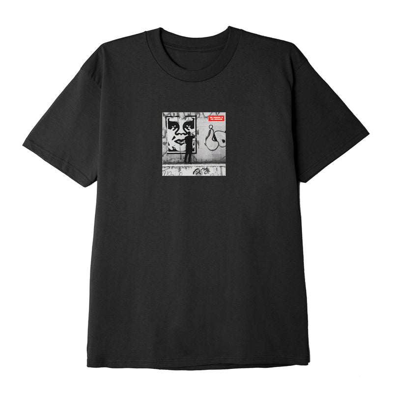 OBEY - The Medium is the Message Men's Classic Tee, Black