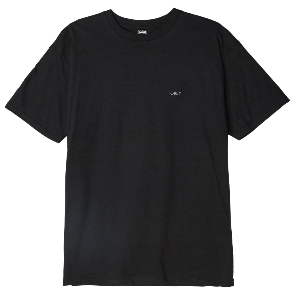 OBEY - Paint It Black Men's Classic Tee, Black