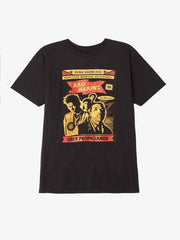 OBEY - Bad Brains Punk Rock A-Go-Go Men's Shirt, Black - The Giant Peach