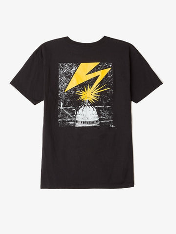 OBEY - Bad Brains Capitol Men's Shirt, Black