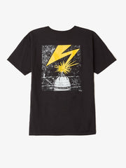 OBEY - Bad Brains Capitol Men's Shirt, Black - The Giant Peach - 1