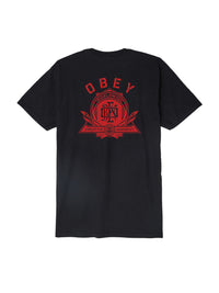 OBEY - Creative Dissent Monogram Men's Shirt,  Black
