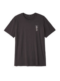 OBEY - Rose Shackle Men's Superior Tee, Off Black