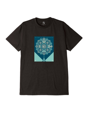 OBEY - Earth Crisis Men's Sustainable Tee, Black