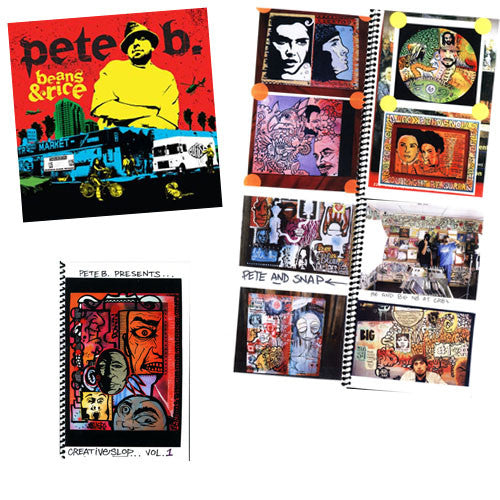 Pete B. (of The Cuf) - Beans & Rice (w/ FREE Creative Slop... Vol. 1 Booklet), CD - The Giant Peach