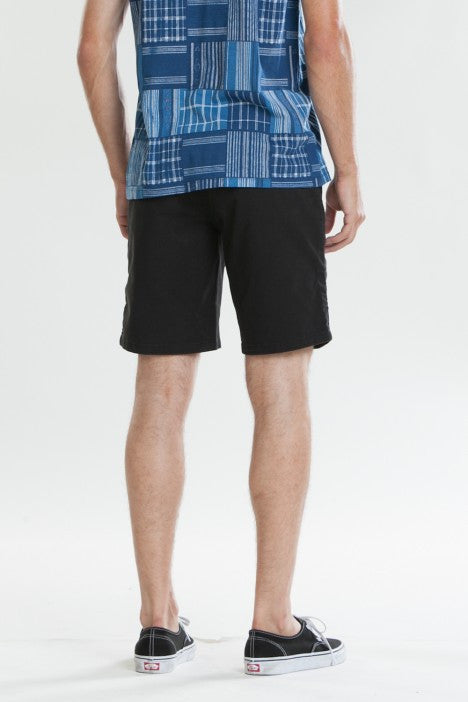 OBEY - Working Man II Men's Shorts, Black - The Giant Peach - 3