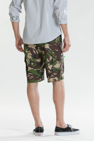 OBEY - Recon Cargo Men's Shorts, Brush Camo - The Giant Peach