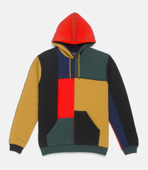 10Deep - Arise Men's Patchwork Hoodie, Multi - The Giant Peach
