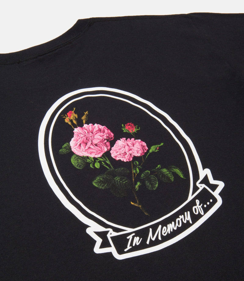 10Deep - In Loving Memory Men's L/S Tee, Black - The Giant Peach