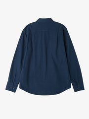 OBEY - Gunner Woven L/S Men's Shirt, Navy - The Giant Peach - 5