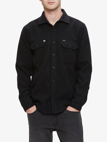 OBEY - The Jack Men's Woven Shirt, Black