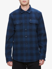 OBEY - Easton Men's Woven Shirt, Navy Multi - The Giant Peach