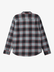 OBEY - Wilcox Men's Woven Shirt, Charcoal Multi