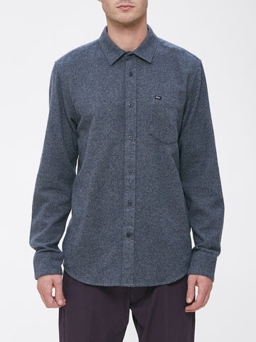 OBEY - Harrington Men's Woven Shirt, Navy