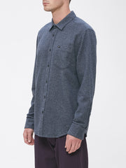 OBEY - Harrington Men's Woven Shirt, Navy - The Giant Peach