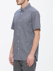OBEY - Alder Woven S/S Men's Shirt, Navy Multi - The Giant Peach