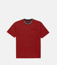 10Deep - Foreigner Striped Men's Tee, Red