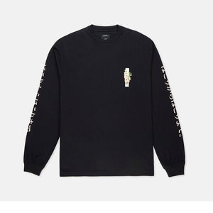 10Deep - Ashes To Ashes Men's L/S Tee, Black