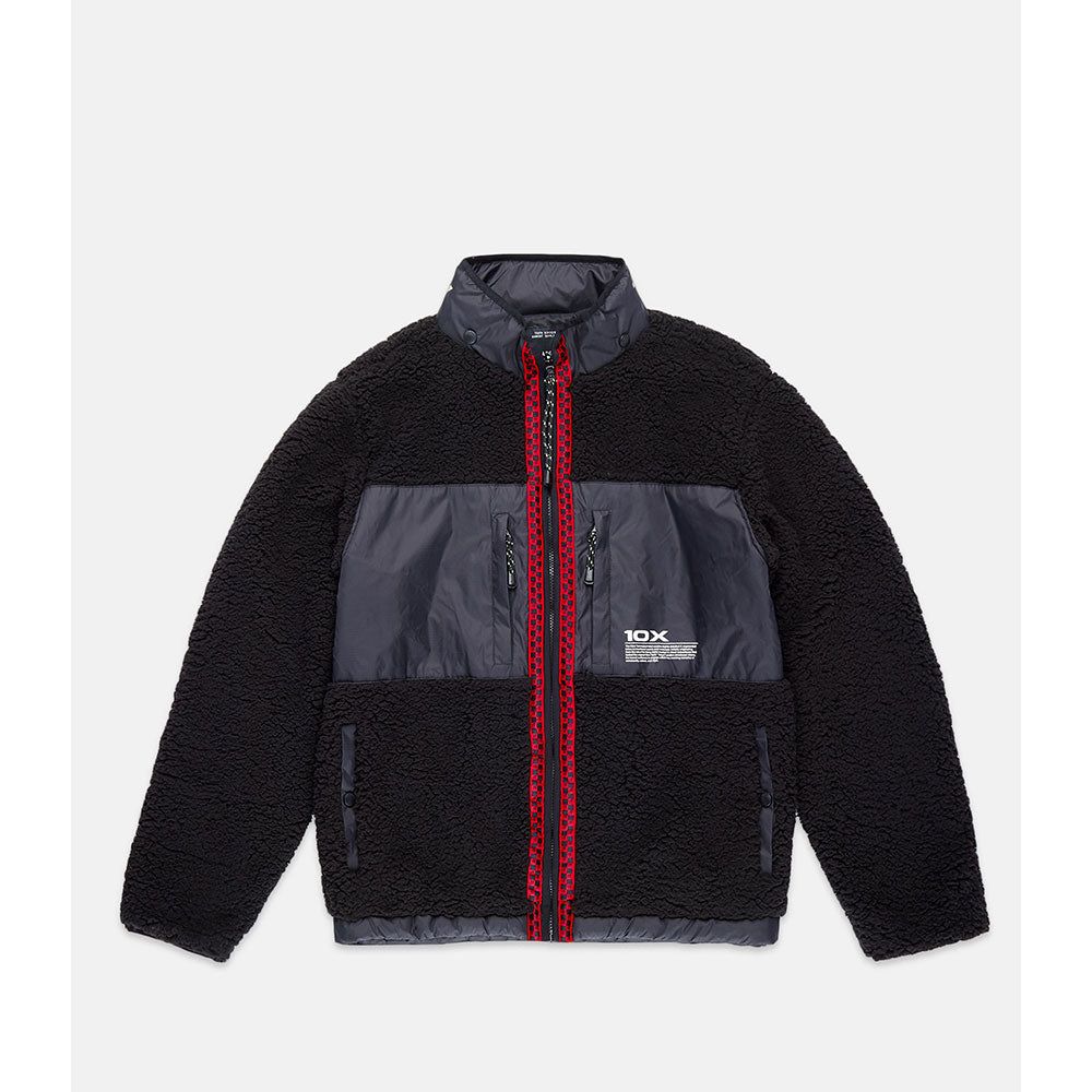 10Deep -  Disconnected Sherpa Men's Fleece, Black