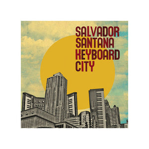Salvador Santana - Keyboard City, CD - The Giant Peach