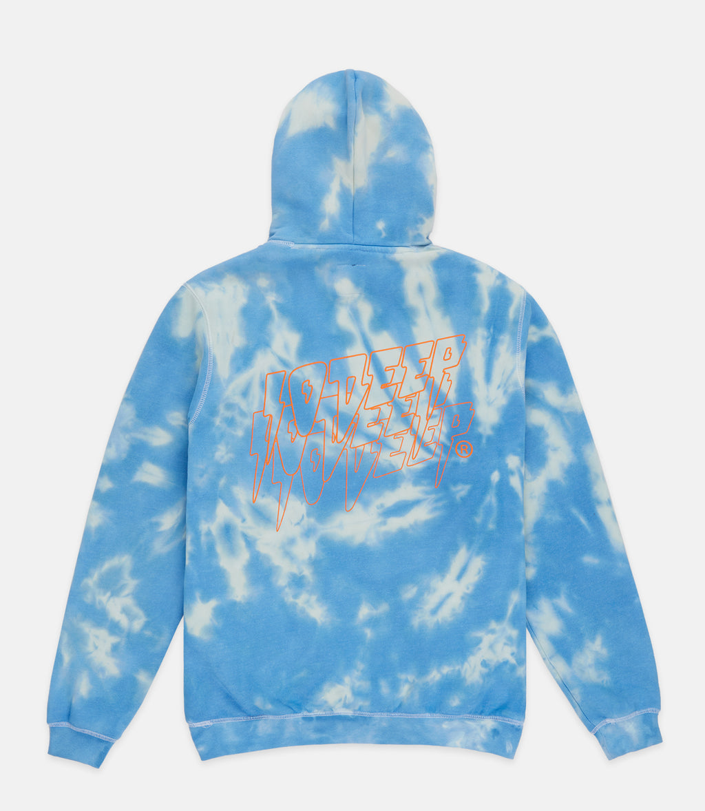 10Deep - Sound & Fury Tie Dye Men's Hoodie, Blue