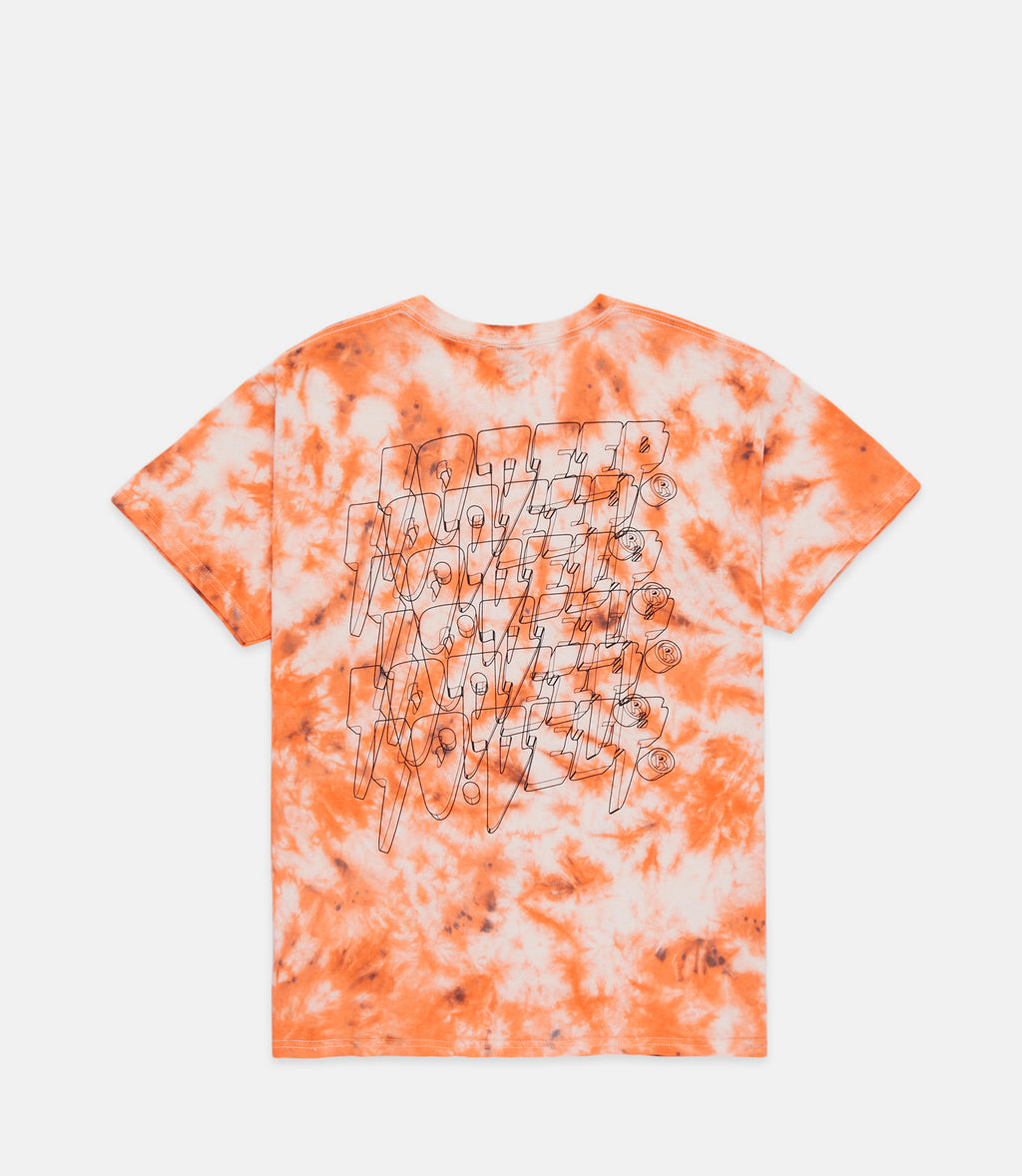 10Deep - Digi-Stack Men's Tee, Orange