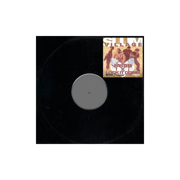 "Slum Village - Faster / Lock It Down, 12"" Vinyl - The Giant Peach"