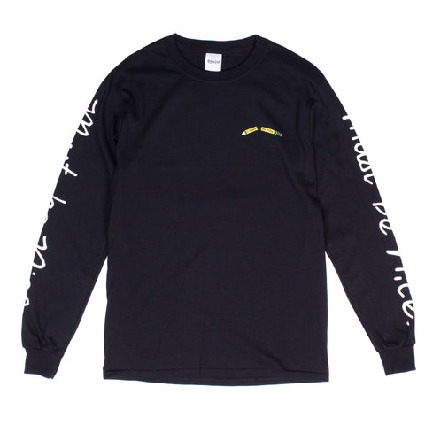 RIPNDIP - Standards Men's L/S Tee, Black