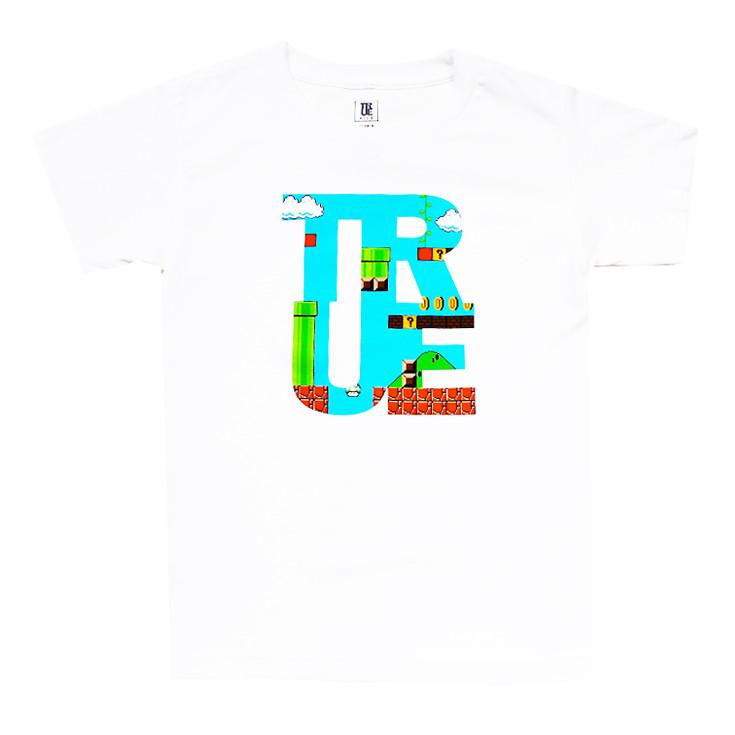 TRUE - 1Up Kids Tee, White
