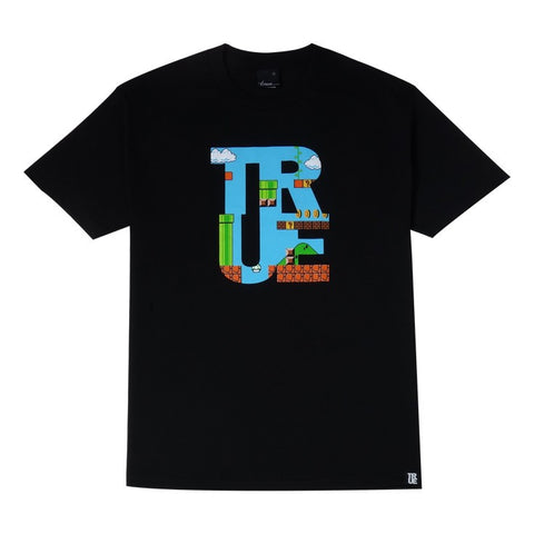 TRUE - 1up Men's Shirt, Black