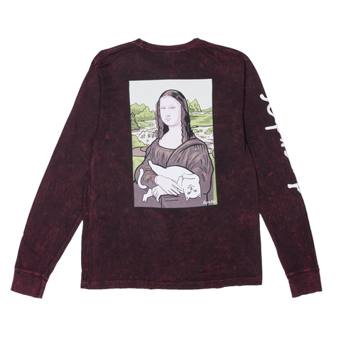 RIPNDIP - Nerma Lisa Men's L/S Tee, Bleach Mineral Wash