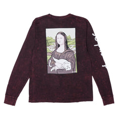 RIPNDIP - Nerma Lisa Men's L/S Tee, Bleach Mineral Wash - The Giant Peach