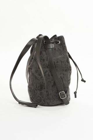 OBEY - Antwerp Bucket Backpack, Black Multi