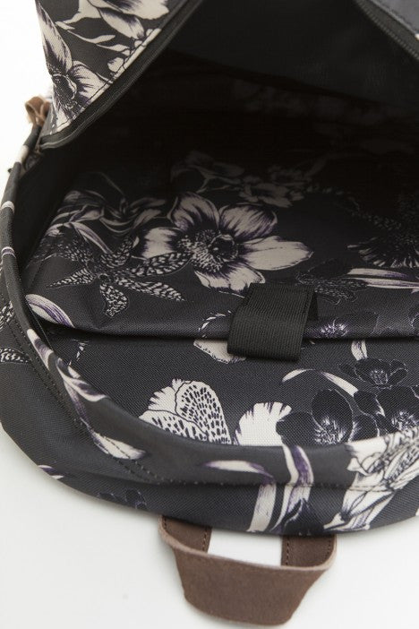 OBEY - Dark Orchid Backpack, Black Multi - The Giant Peach