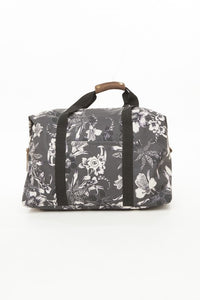 OBEY - Dark Orchid Weekender Bag, Black Multi - The Giant Peach