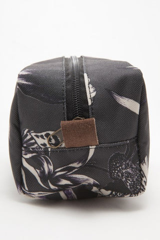OBEY - Dark Orchid Zip Pouch, Black Multi