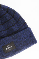 OBEY - Vernon Beanie, Cobalt/Black - The Giant Peach - 2