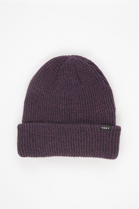 OBEY - Arcadia Beanie, Dress Blue/Port Royale - The Giant Peach