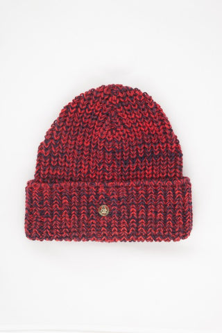 OBEY - Maywood II Beanie, Red Multi - The Giant Peach - 1