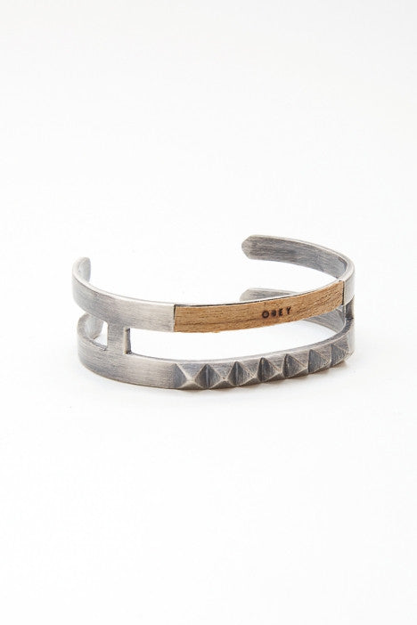 OBEY - Piet Bracelet, Antique Silver - The Giant Peach