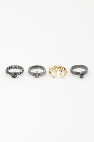 OBEY - Sinful Stack Rings