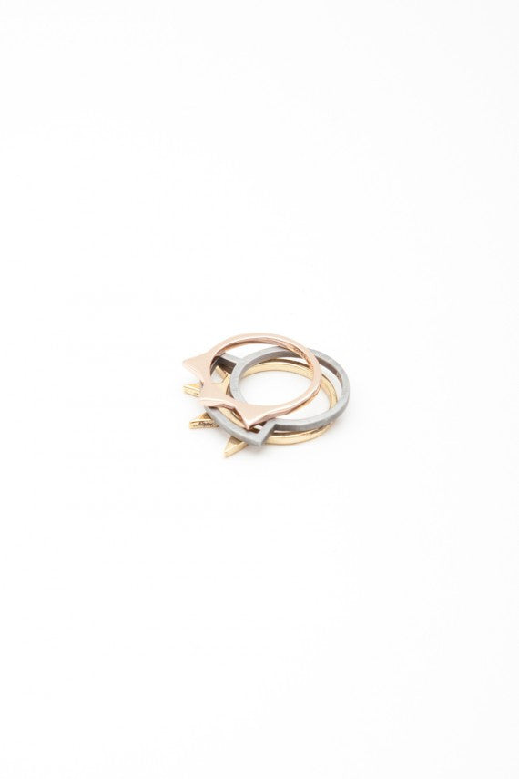 OBEY - Spike Stack Rings - The Giant Peach - 3