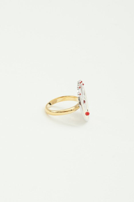 OBEY - Minka Ring, Silver - The Giant Peach