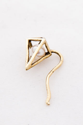 OBEY - Nebula Climber Earring, Gold - The Giant Peach