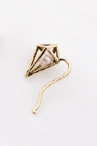 OBEY - Nebula Climber Earring, Gold
