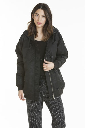OBEY - Ace Women's Jacket, Black - The Giant Peach