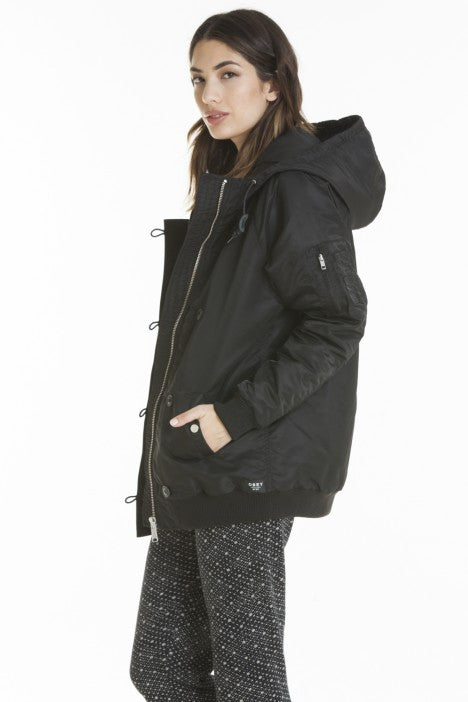 OBEY - Ace Women's Jacket, Black - The Giant Peach - 4