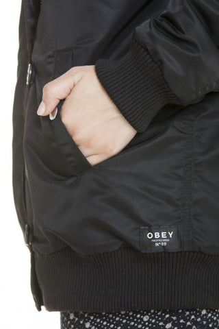OBEY - Ace Women's Jacket, Black